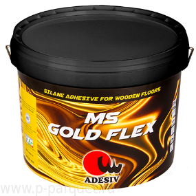 Однокомпонентный силановый клей MS GOLD FLEX